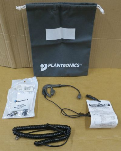 Plantronics H81N TriStar Noise-Canceling Headset & Ear Bud Pack
